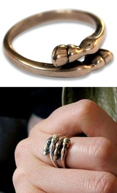 Stackable Horse Hoof Rings ♥ Cute Country Girl Charm