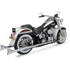 Escapamento Fishtail Pyton para Harley Softail