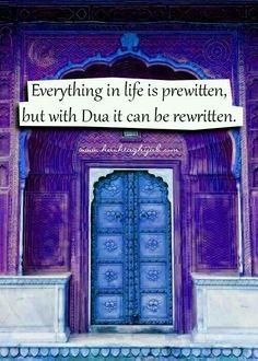 Dua Can Change Your Destiny