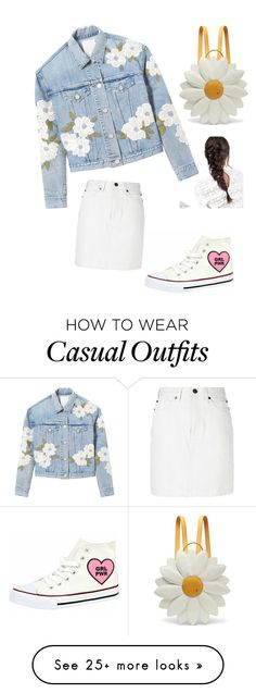 """""""Spring look"""" by kamenskux on Polyvore featuring Rebecca Taylor, Calvin Klein 205W39NYC, Charlotte Olympia and ASOS"""