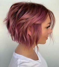 Short Wavy Hairstyles For Women, Choppy Bob Hairstyles, Short Hairstyles For Thick Hair, Curly Hair Styles, Cool Hairstyles, Hairstyle Ideas, Hairstyle Short, Short Trendy Haircuts, Pixie Bob Haircut