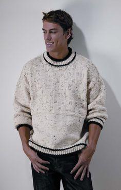 Easy Favorite Pullover for Men - free knitting pattern