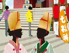 "Check out new work on my @Behance portfolio: ""Kamakura osanpo map-2014"" http://on.be.net/1HuCcWX"