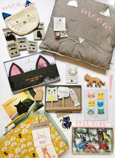 Geschenke für Katzenfreunde, Geschenkideen für Katzen-Fans bei loretta cosima, Concept Store in Wien, www.lorettacosima.at Furry Tails, Cat Ears, Kitty, Cats, Paper Mill, Gifts, Gatos, Kitten, Kitty Cats