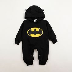Pudcoco Winter Newborn Baby Boy Girls 2018 Sweater Batman Hoodies Romper Jumpsuit Gray or Black Hooded Autumn Warm SS - April 20 2019 at Baby Outfits Newborn, Baby Boy Newborn, Toddler Outfits, Baby Boy Outfits, Winter Baby Boy, Winter Newborn, Outfits Niños, Kids Outfits, Fall Outfits
