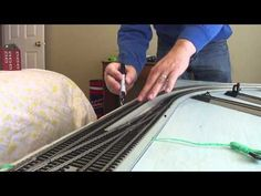 Cleaning Model Railroad Train Rail N Scale by Fifer Hobby Supply - YouTube #modelrailroadsupplies