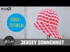 """""""Sonnenhut"""" aus Jersey für Babys und Kinder ganz einfach selber nähen  DIY-Näh-Tutorial - YouTube"""