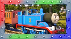 How to Coloring Thomas the Tank Engine ♦ Coloring page with Thomas and F...