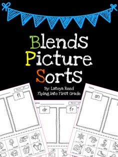 Blends Freebie from Flying into First Grade