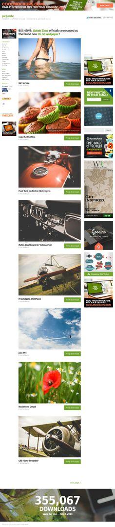 colección de fotografías gratuitas organizadas por categorías