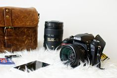 What's in my camera bag? Sharing all my favorite #photography gear: Nikon D750 camera and lenses that I carry in my ONA Bowery bag.
