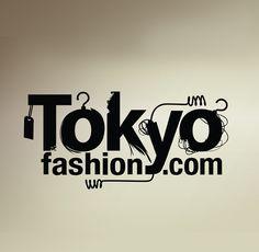 Fashion news from Tokyo, Japan Fashion Logo Design, Fashion Brand, Fashion News, Fashion Logos, Typo Logo, Typography, Tokyo Street Style, Tokyo Fashion, Street Fashion