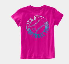 Girls' It's A Softball Thing Graphic T-Shirt