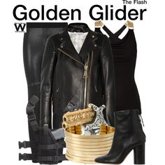 Inspired by Peyton List as Golden Glider on The Flash.