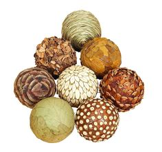 Color:Brown   Size:Large  If you are looking for low cost but rare to find elsewhere decor item to bring extra galore that could refresh the decor appeal of short spaces on tables or shelves, beautiful 42950 NATURAL BALL S/8 may be a good choice.   eBay!