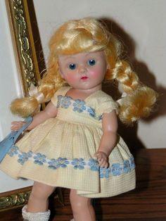 VINTAGE VOGUE 1952 STRUNG GINNY  #41 MARGIE, Original & Complete Sweet L@@K #VINTAGEDOLLINORIGINALBOXWITHCLOTHING