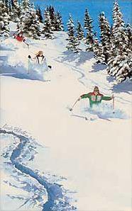 Vintage Ski Poster- Jamie?  Art of Skiing
