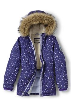 Girls Expedition Printed Parka from Lands' End