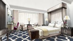 A rendering of an interior by Marks & Frantz Interior Design