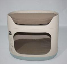Gabriele Zechel - Hundekörbe, Le - Kombination Transportbox / Höhle + Bett von Curver Petlife für Katzen und kleine Hunde