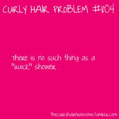 curly hair problem.