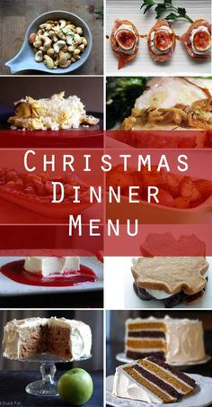 I've put together some of my favorite recipes for a delicious Christmas dinner inspiration menu. Most of these recipes come together quickly and easily, and I've included a bonus recipe for the ambitious cook.