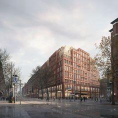Sergison Bates . Rethmeierschlaich . Mönckebergstrasse city block . Hamburg afasia (1)   a f a s i a