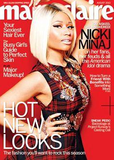 Snapshot: Nicki Minaj by Satoshi Saikusa for Marie Claire August 2013 - The Fashion Bomb Blog : Celebrity Fashion, Fashion News, What To Wear, Runway Show Reviews