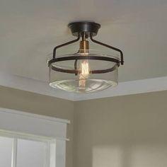 Ideas Living Room Lighting Fixtures Flush Mount Drum Shade For 2019 Entryway Lighting, Foyer Lighting, Flush Mount Lighting, Lighting Ideas, Pendant Lighting, Bathroom Lighting, Pantry Lighting, Basement Lighting, Cabin Lighting