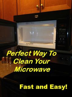 Easy Way To Clean Your Microwave
