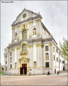 Monumental Church of St. Adalbert (Kostel Sv. Vojtecha), core of the former Jesuits residence in Opava, is one of the most distinctive Baroque monuments in former capital of Opava' Duchy and nowadays serves as Roman Catholic filial church.