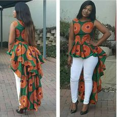 Look at this Gorgeous africa fashion Africa Fashion, African Inspired Fashion, African Print Fashion, Modern African Fashion, Trendy Fashion, Fashion Tips, African Blouses, African Tops, African Women