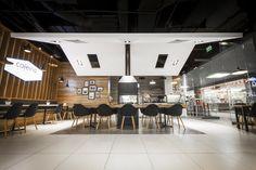 Mallwowa shopping mall in Skorzewo has a brand new place in their portfolio - Cafeina café.