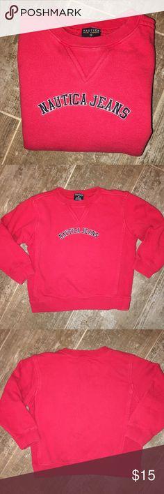 Nautica Little Boy's Red Sweatshirt Size 4 Nautica Little Boy's Red Sweatshirt Size 4 - Excellent Condition Nautica Shirts & Tops Sweatshirts & Hoodies