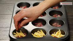 Umple forma pentru brioșe cu ouă și cașcaval și în puțin timp vei obține o capodoperă culinară! - savuros.info Muffin, Cupcakes, Muffins
