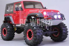 Axial SCX10 1/10th RC Truck JEEP WRANGLER RUBICON 4WD 2.2 Rock Crawler  *RTR* #Axial