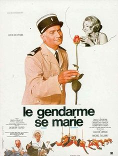 The Gendarme Gets Married (1968) | http://www.getgrandmovies.top/movies/10553-the-gendarme-gets-married | The Saint-Tropez police launch a major offensive against dangerous drivers. Marechal Cruchot (Louis de Funès) relishes the assignment, which he pursues with a manic zeal. Cruchot is after an offending driver, who turns out to be Josépha (Claude Gensac), the widow of a highly regarded police colonel. When they meet, Cruchot falls instantly in love....