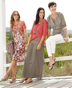 Was kann einen Frühlingstag gemeinsam mit den Mädels noch besser machen? Das passende Outfit! #Mode #Maxirock