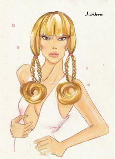 Fashion Illustration Libra by idrawfashion on deviantART