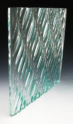 Architectural glass Nathan Allan Glass Studios Inc: Freeform