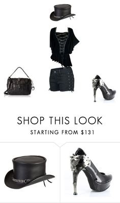 """""""Untitled #73"""" by thea1112 ❤ liked on Polyvore featuring Overland Sheepskin Co. and HADES"""