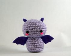 Crochet Fritz the Fruit Bat by MillieCrochetHouse on Etsy, $15.00
