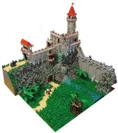 Castle with underground base