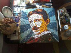 Tesla mozaik