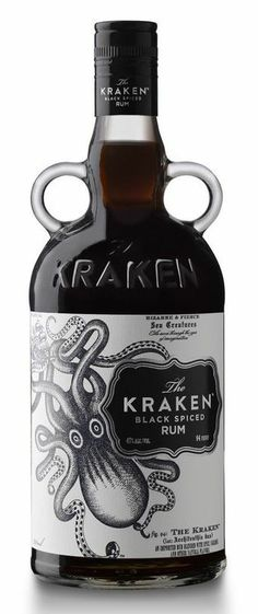The Kraken Black Spiced Rum | Trinidad & Tobago ---- Made in Trinidad, bottled in the USA, sold in NA