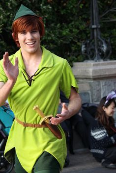 Peter Pan in the Soundsational Parade - That was a cool parade... (; #Disneyland