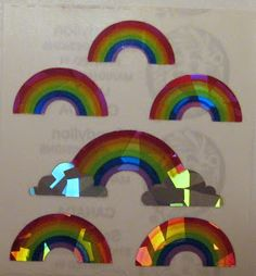 sandylion stickers rainbows - Google Search