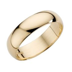 18ct Yellow Gold 5mm Extra Heavyweight Wedding Ring- H. Samuel the Jeweller