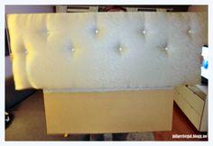 Enkel, hjemmelaget sengegavl