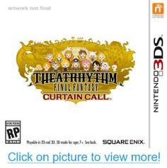 The Curtain Rises For Theatrhythm Final Fantasy: Curtain Call - Hardcore Gamer Latest Video Games, Video Game News, Nintendo 3ds, Final Fantasy Theatrhythm, Call Logo, Eminem Songs, 3d Mode, Curtain Call, Song List
